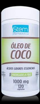 Oleo de Coco 1000g 120cps Stem   validade 05/21 venc