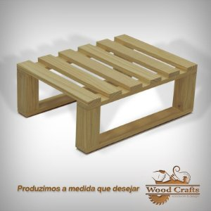 Mini-Palete ´Wood Crafts - 60x45x20cm