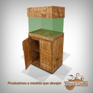 Rack para Aquario - Woodcrafts - 60x90x40cm