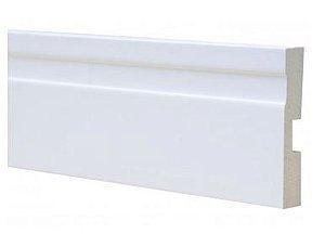 Rodapé wpc Vinílico branco 8 cm - valor metro linear