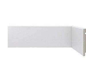 Rodapé Poliestireno Branco 10cm LISO - Valor br. 2,20 ml