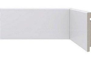 Rodapé Poliestireno Branco 20 cm LISO- valor por ml
