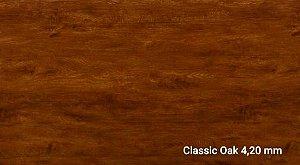 Piso Vinìlico SPC Click 4,20 mm cxs 2,41m2- COR CLASSIC OAK