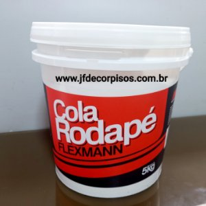 Cola Rodapés e Molduras Flexmann 5 kg