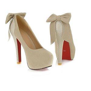 Sapato Salto Alto Laço Traseiro