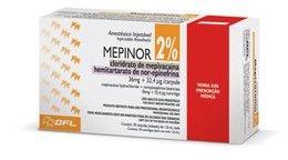 ANESTÉSICO MEPINOR 2% - DFL