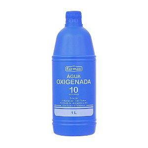 AGUA OXIGENADA 10VL 1 LITRO - FARMAX