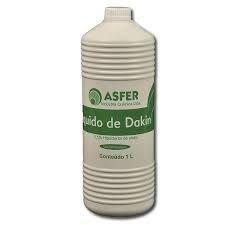 LÍQUIDO DE DAKIN 1 LITRO -  ASFER
