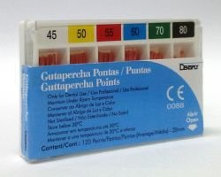 GUTA PERCHA  CALIBRADA DENTSPLY 45-80
