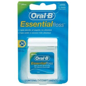FIO DENTAL ESSENCIAL FLOSS -   ORAL-B