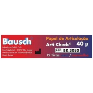 PAPEL CARBONO COM 12 TIRAS -  BAUSCH