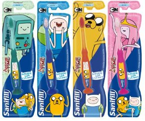 ESCOVA DENTAL INFANTIL ADVENTURE TIME - SANIFILL