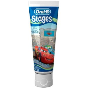 CREME DENTAL STAGES CARROS - ORAL-B