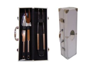 KIT CHURRASCO MALETA 3PÇS - KC004