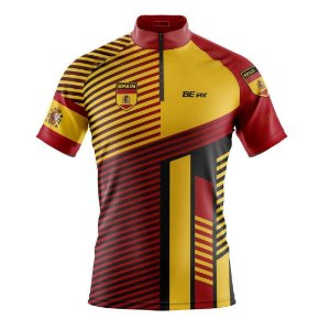 Camisa ciclismo masculina Be Fast Classic Spain