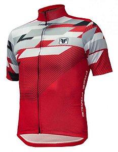 Camisa de Ciclismo Advance Vermelho - Free Force