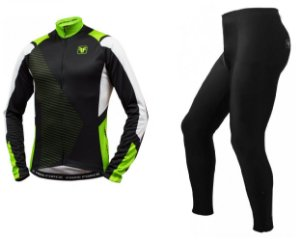 Conjunto de ciclismo Slayer preto - Free Force