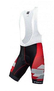Bretelle de ciclismo Advance Vermelho - Free Force