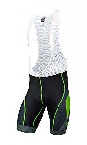 Bretelle de ciclismo Blaster Verde Flúor - Free Force
