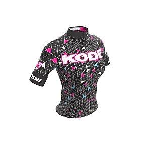 Camisa de ciclismo feminina Geometric 2018 - Kode