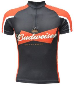 Camisa de ciclismo Budweiser - ERT Cycle Sport