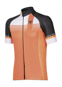 Camisa de ciclismo Kirk Laranja - Free Force
