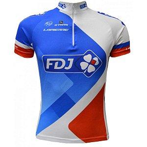 Camisa de ciclismo FDJ - ERT Cycle Sport
