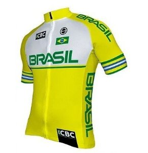 Camisa de ciclismo Elite Seleção Brasileira 2018 - ERT