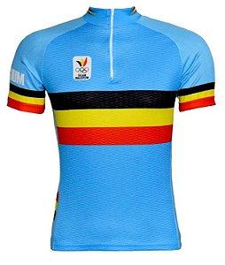 Camisa de ciclismo Team Belgium / Equipe da Bélgica - ERT