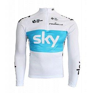 Camisa ciclismo manga longa Sky 2018 Be Fast