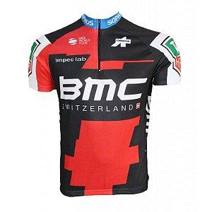 Camisa ciclismo BMC 2018 Be Fast