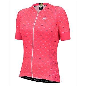 Camisa ciclismo feminina Cycles Free Force