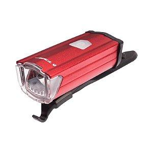Farol dianteiro recarregável USB 200 lumens TSW