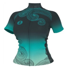 Camisa ciclismo feminina Ocean ERT