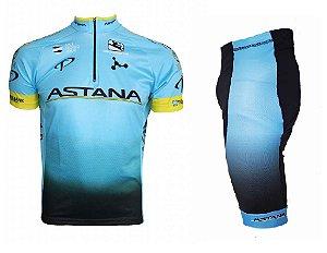 Conjunto ciclismo Astana 2018 Be Fast