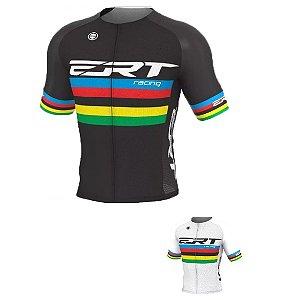 Camisa ciclismo Elite ERT Campeão Mundial