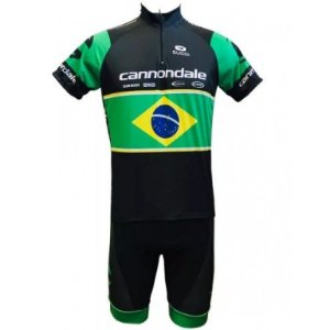 Conjunto ciclismo Cannondale Brasil Be Fast