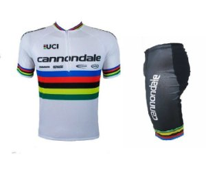 Conjunto ciclismo Cannondale Campeão Mundial Be Fast