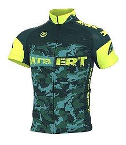 Camisa ciclismo ERT MTB camuflada