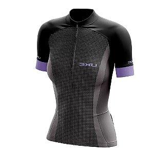 Camisa ciclismo feminina Refactor Targa