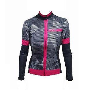 Camisa ciclismo Refactor feminina manga longa Murcielago