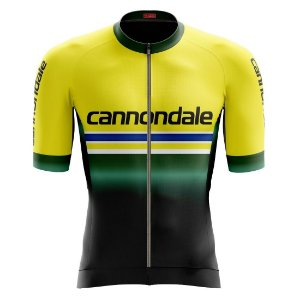 Camisa de ciclismo masculina Premium Cannondale Be Fast