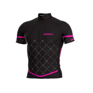 Camisa de ciclismo ERT Classic Black Pink