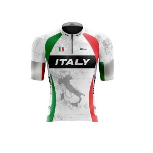Camisa de ciclismo masculina Classic Italy Be Fast