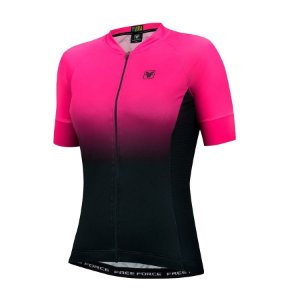 Camisa de ciclismo feminina Free Force Sport Dual