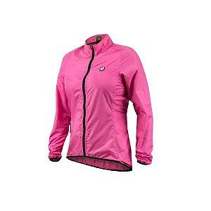 Jaqueta corta vento ciclismo feminina Free Force Sport