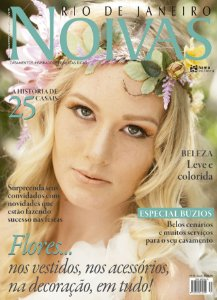 Noivas Rio de Janeiro (31) - Flores nos vestidos, nos acessórios, na decoração, em tudo!
