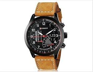 Relógio Curren Men Camurça