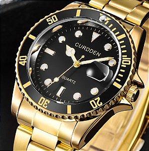 Relógio CURDDEN estilo Rolex
