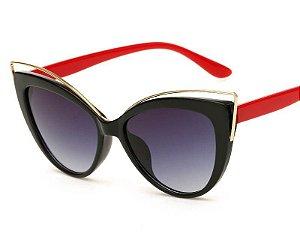Óculos de Sol Feminino Olho de Gato Molniya UV400